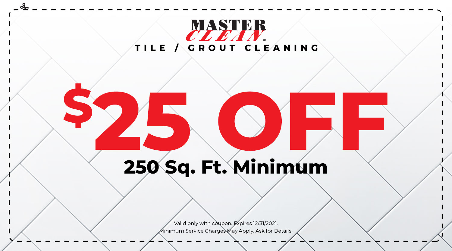 Tile & Grout Cleaning Coupon